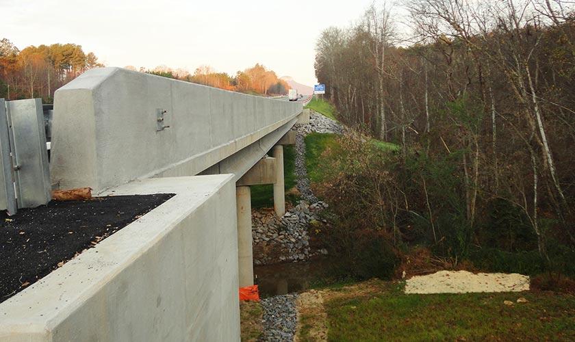Smith-Rowe | Bridge | Forsyth County, HWY 52, Pinnacle, Over Little Yadkin River