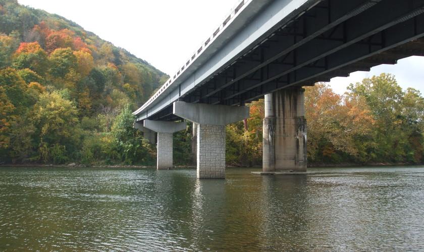 Smith-Rowe | Bridge | Giles County, River Rd., Pembroke, VA
