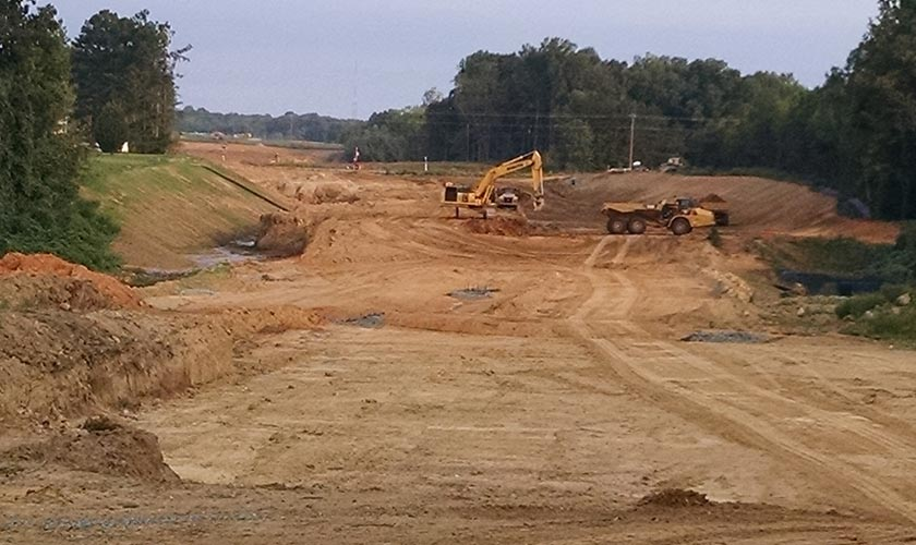 Smith-Rowe | Full Service Grading | Eastern Greensboro Loop
