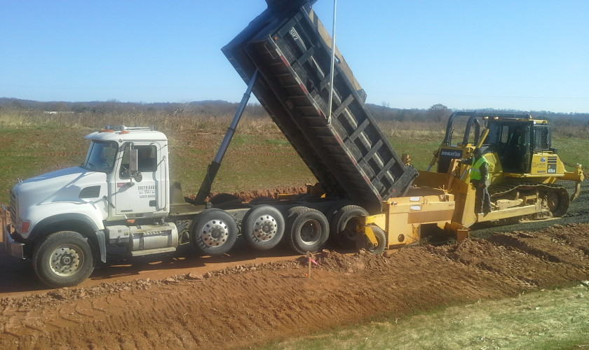 Smith-Rowe   Full Service Grading   Holly Springs Extension