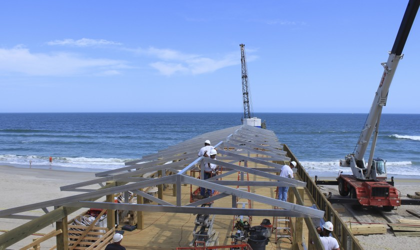 Smith-Rowe | Marine Construction | Oceanic Pier, Wilmington, NC