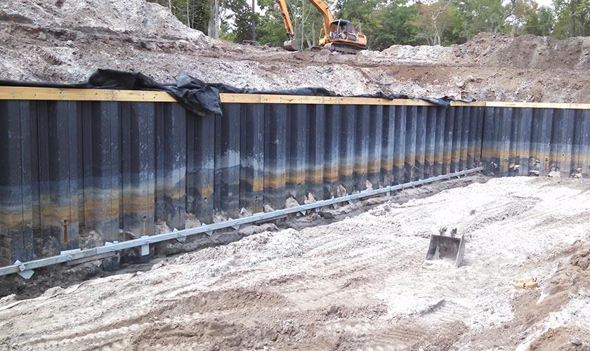 Smith-Rowe | Walls Foundations | Helms Port Marina Wilmington, NC