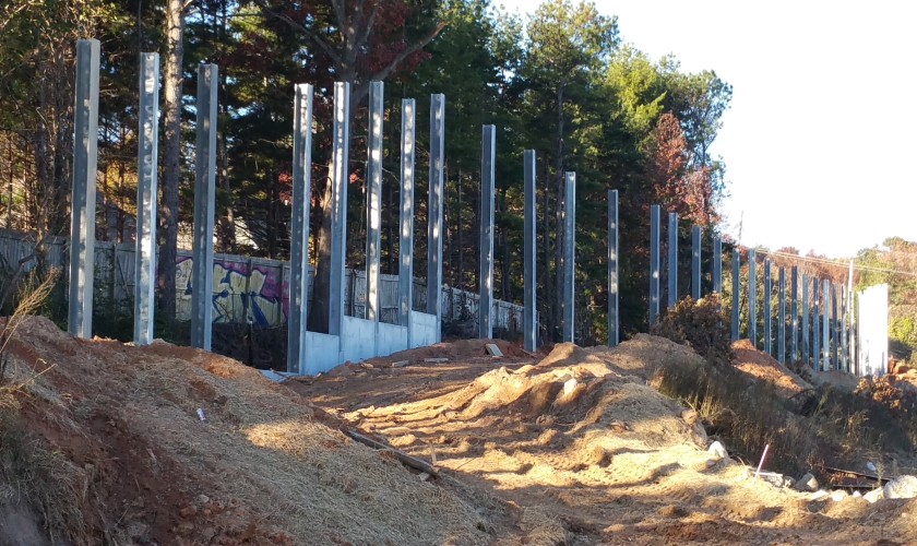 Smith-Rowe | Walls Foundations | Atlanta, Georgia
